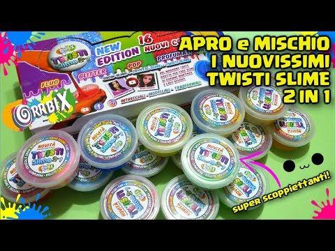 APRO e MISCHIO i NUOVI TWISTI SLIME 2 in 1! Wow! Reazione Twisti Slime 2 in 1 Orrbix By FrancyDreams (видео)