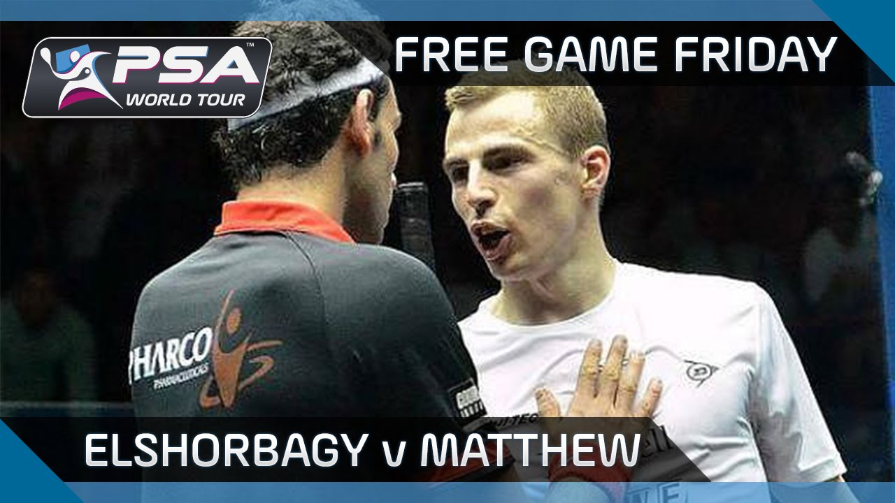 Squash: Free Game Friday – Elshorbagy v Matthew – World Championships 2014