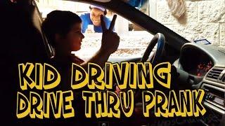 Video DRIVE THRU- KID DRIVER PRANK (MUST WATCH) MP3, 3GP, MP4, WEBM, AVI, FLV Agustus 2019