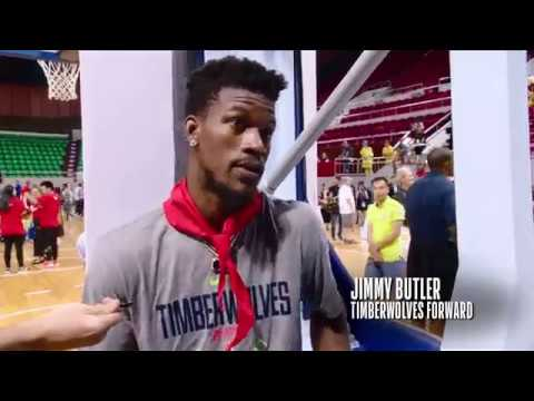 MINNESOTA TIMBERWOLVES ALL-ACCESS NBA CARES EVENT IN CHINA