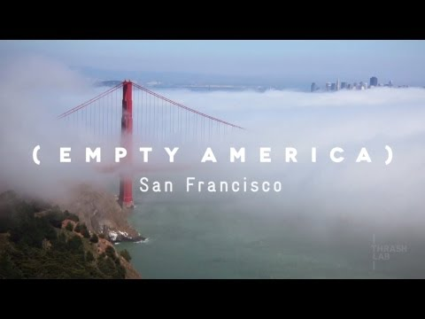 San Francisco Time Lapse Empty America