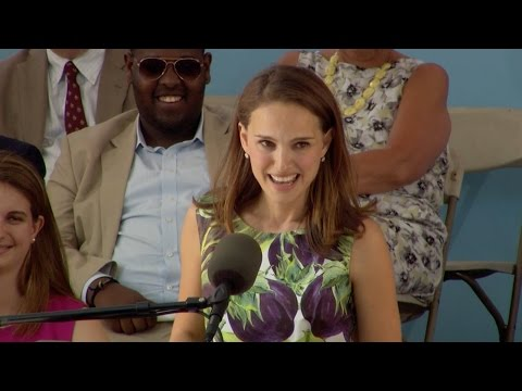 Natalie Portman Harvard Commencement Speech | Harvard Commencement 2015 (видео)