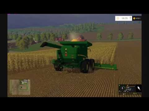Farming Simulator 2015:  John Deere Corn Harvest HD