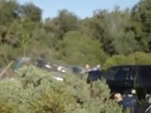 Gruby crash Renault 5 Alpine