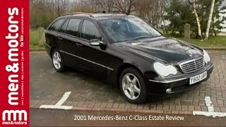 Richard Hammond reviews the 2001 Mercedes-Benz C-Class Estate, which has been designed to be a lot more stylish than your usual estate car. He puts the practicality and comfort to the test to see how it is to live with on a day to day basis, as well as checking out it's performance and handling.  ------------------ Don't forget to SUBSCRIBE for more content!  http://www.youtube.com/user/menandmotors?sub_confirmation=1  å© Men and Motors - One Media iP 2017