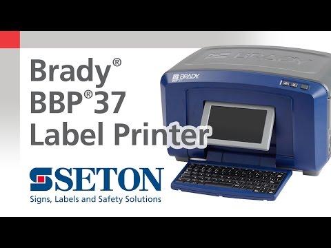 Brady® BBP®37 Printer Overview | Seton Video