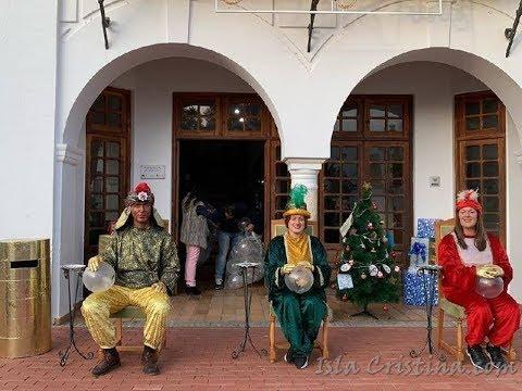 Entrega de Cartas a los Pajes Reales en La Redondela