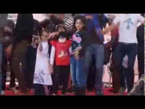 رقص وغناء مع الأطفال بماراثون مستشفى سرطان الأطفال 57357