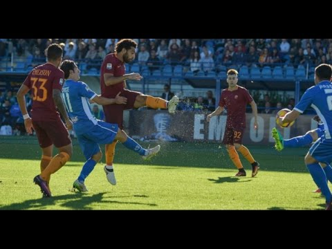 As Roma vs Empoli 2-0 - Highlight & Goals SeriA 2017 HD
