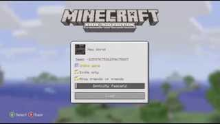 Minecraft:Xbox360 Edition how to play two player split screen
