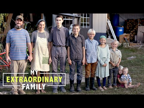 Family Of 9 Live Off Grid To 'Reject Society' | MY EXTRAORDINARY FAMILY
