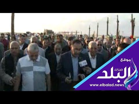 رئيس الوزراء يتفقد مستشفى بورسعيد العام