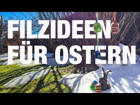 Bastelideen für Ostern: Ostereier filzen – DIY Tutorial & Filzanleitung