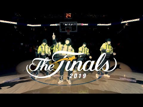 JABBAWOCKEEZ at the NBA Finals 2019