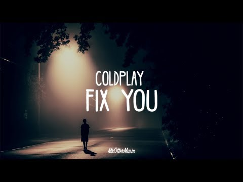 Coldplay - Fix You (Lyrics) [Lauv Cover]