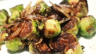 today we show you a side dish featuring Brussels Spouts A wonderful and delicious vegetable..Be careful not to burn them in the butter just brown them well as ...