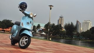 2. Vespa LX150 Review
