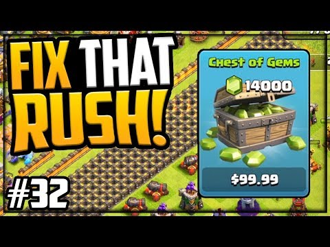 HOW Far Will 14,000 Gems Go? Fix That Rush Clash Of Clans Episode 32