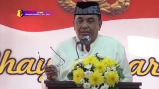 POLDA BANGKA BELITUNG GELAR SYUKURAN HARI BHAYANGKARA KE 70 SECARA SEDERHANA