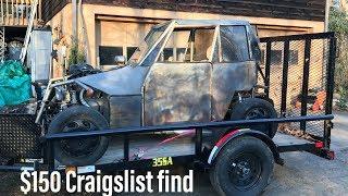 Download Video Craigslist Find: $150 Suzuki VX800 Go Kart/Buggy MP3 3GP MP4