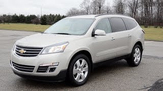 2013 Chevrolet Traverse AWD LTZ - WINDING ROAD POV Test Drive