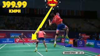 Video 20 Fastest SMASHES in Badminton MP3, 3GP, MP4, WEBM, AVI, FLV Agustus 2018