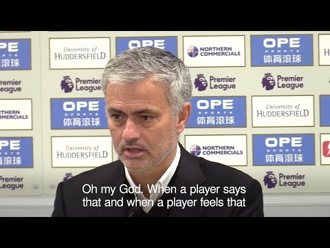 Jose Mourinho Blasts Manchester United's Attitude In Huddersfield Defeat (видео)