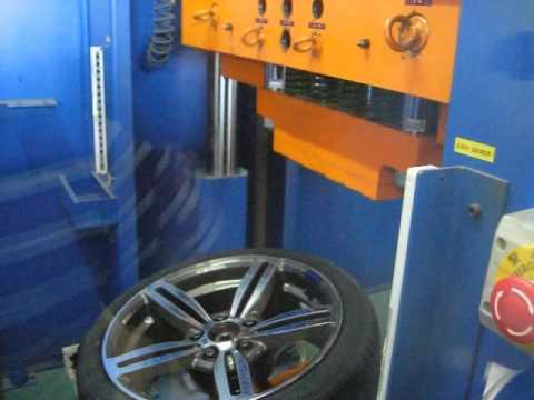Испытание диска WSP Italy W652 Agropoli на косой удар обода (BMW)