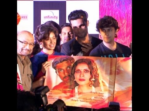 Randeep Hooda & Others At Music Launch Of Movie Rang Rasiya