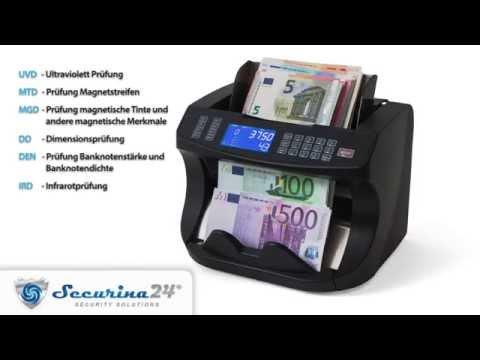 Securina24 Geldzählmaschine S(R)E-6000