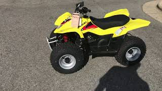 9. 2018 QuadSport Z50 Champion Yellow