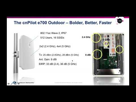 New cnPilot Outdoor Wi-Fi Connectivity Solutions