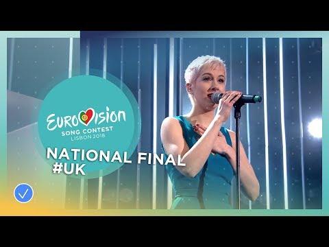 SuRie - Storm - United Kingdom - National Final Performance - Eurovision 2018 видео