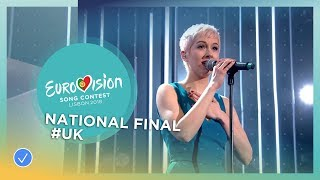 Video SuRie - Storm - United Kingdom - National Final Performance - Eurovision 2018 MP3, 3GP, MP4, WEBM, AVI, FLV Maret 2018