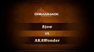 Sjow vs AKAWonder, game 1