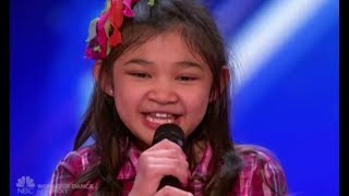 Video Angelica Hale: Future Star STUNS The Crowd OH. MY. GOD!!! | Auditions 2 | America's Got Talent 2017 MP3, 3GP, MP4, WEBM, AVI, FLV Agustus 2019