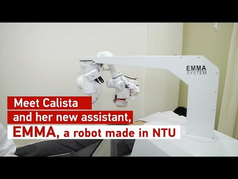 Emma, the massage robot made in NTU Singapore