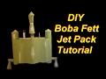 Cheap and Easy DIY Boba Fett Jet Pack Tutorial