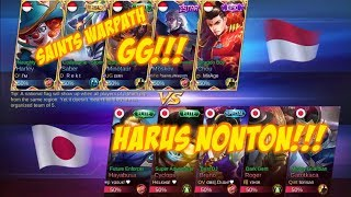 Video Saints Warpath Awal nya Kalah Serangan Tapi Liat Hasil Akhir nya Indonesia vs Jepang | 26 08 2017 MP3, 3GP, MP4, WEBM, AVI, FLV November 2017