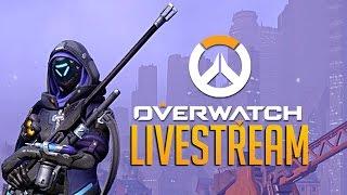 Ana New Overwatch Sniper Support Livestream by GameSpot