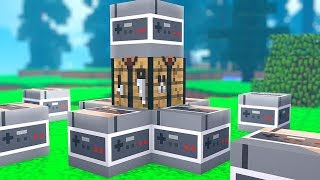 *Video Game Lucky Blocks* Lucky Block Hunger Games - Minecraft Modded Minigame | JeromeASF