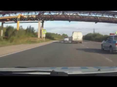 Видео погони за нарушителем со стрельбой