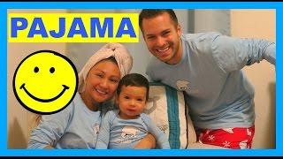 APRILJUSTINTV MATCHING FAMILY PAJAMAS!