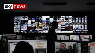 Watch behind the scenes at Sky News