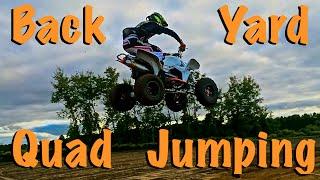 10. Backyard Quad Jumping