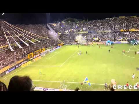 Recibimiento. Central 0 - Colón 1. Torneo Final 2014