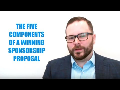 The Five Components of a Winning Sponsorship Proposal
