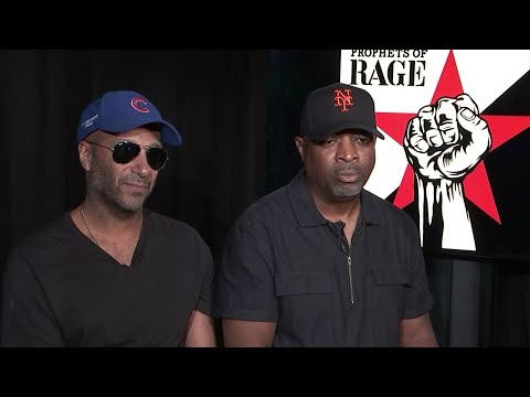 Prophets of Rage: 'Get comfortable with seeing us'