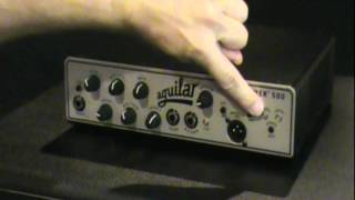 Aguilar Tone Hammer 500 - Features Demo