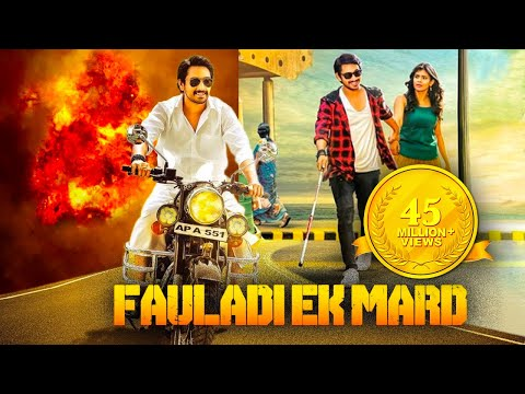 Fauladi Ek Mard Hindi Dubbed Full Action Movie | Raj Tarun, Heba Patel